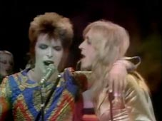 David Bowie and Mick Ronson, TOTP 1972